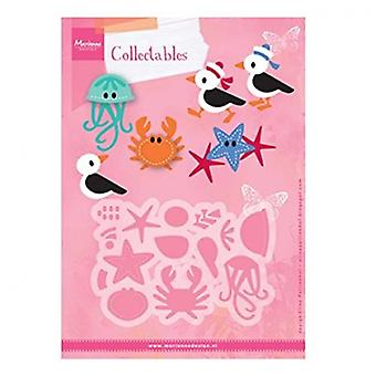 Marianne Design Collectables Cutting Dies - Eline's Seagull & Friends