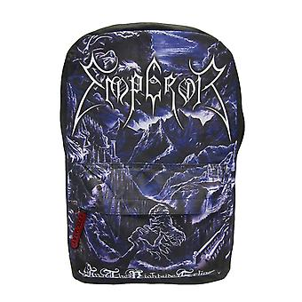 Emperor Backpack Bag In The Nightside Eclipse Band Logo new Official Black