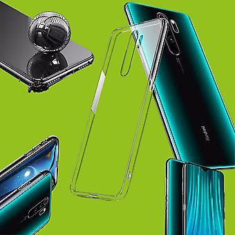 Für Xiaomi Redmi Note 8 Pro Silikoncase TPU Schutz Transparent Tasche Hülle Cover Etui Zubehör Neu