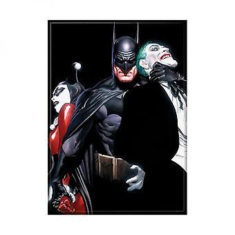 Alex Ross Harley Joker Batman Print Photo Magnet