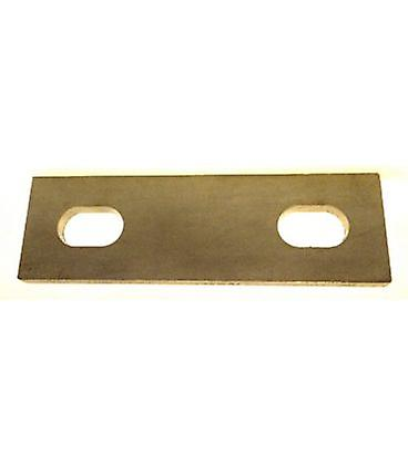 Slotted Backing Plate For M10 U-bolt (41 - 58 Mm Id) T316 Stainless Steel