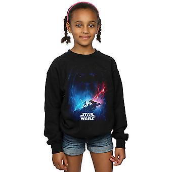 Star Wars Mädchen der Aufstieg von Skywalker Film Poster Sweatshirt