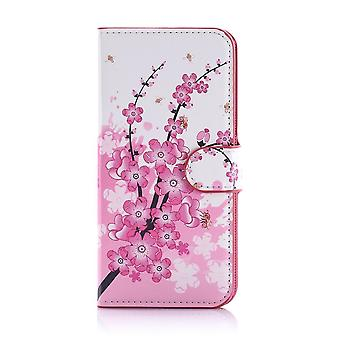 Case For Samsung Galaxy S7 Edge Pattern Japanese Flowers