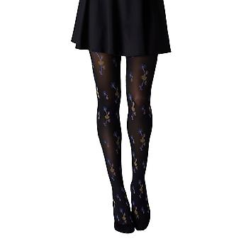 Gipsy Oriental Flowers Fashion Tights