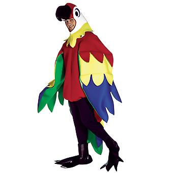 Adult Parrot Zoo Animal Novelty Funny Fancy Dress Costume