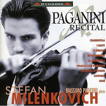 N. Paganini - Paganini Recital [CD] USA import