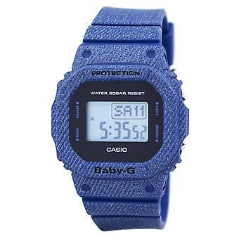 Casio Baby-G Denim'd Alarme Digital 200M BGD-560DE-2 BGD560DE-2 Women's Watch Casio Baby-G Denim 'd Alarme Digital 200M BGD-560DE-2 BGD560DE-2 Women's Watch