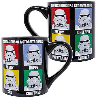 Star Wars uttrykk for Stormtroopers 14 oz krus
