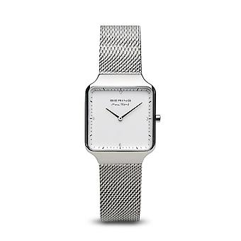 Montre Bering 15832-004 - Bo�tier acier brillant cadran gris bracelet acier milanais Femme