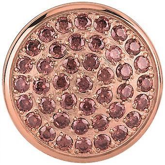 Pierre Breil TJ2082 - stone round steel IP Rose Briolette Zircon.BrunGM woman