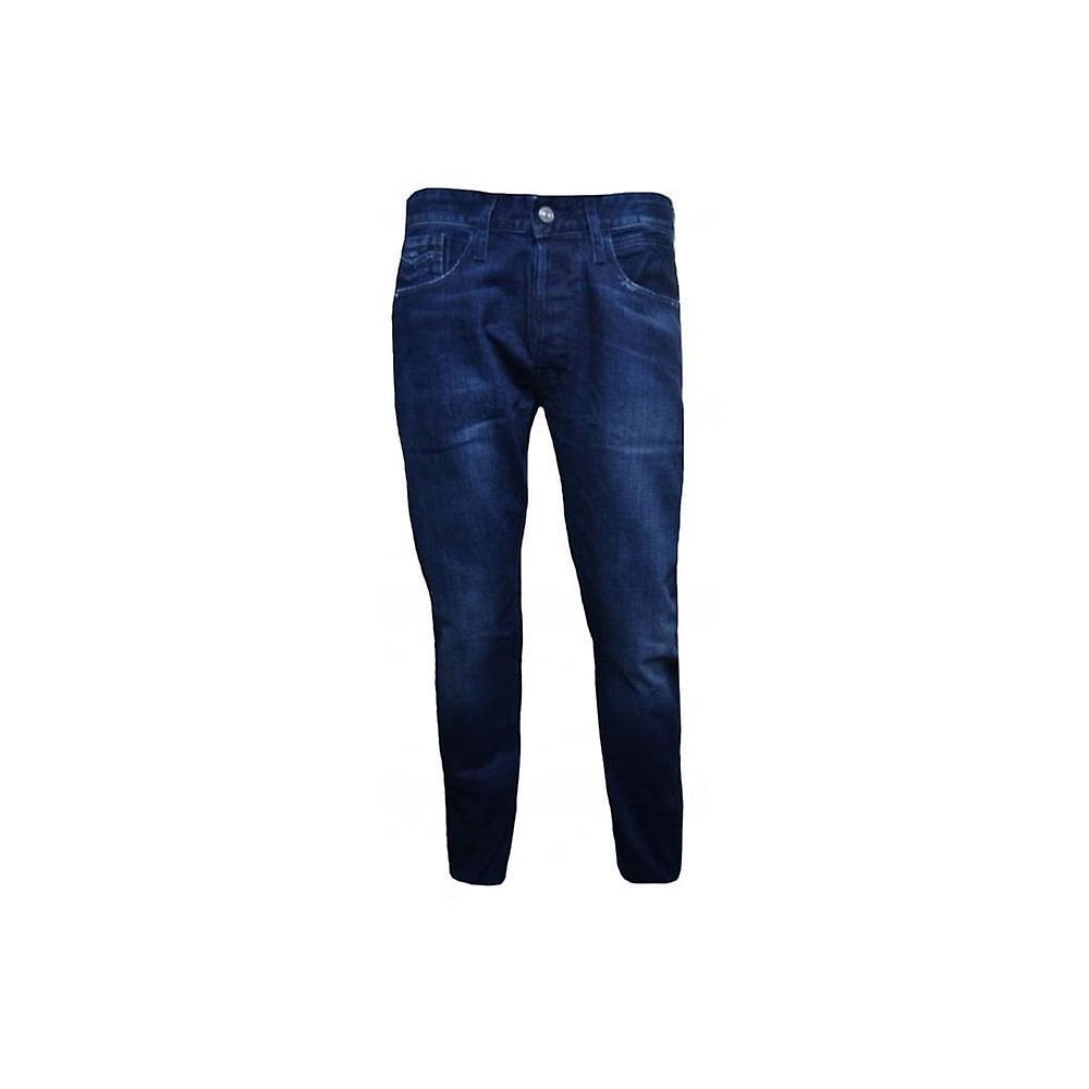 Replay Men's Comfort Fit Dark Blue Newbill Jeans