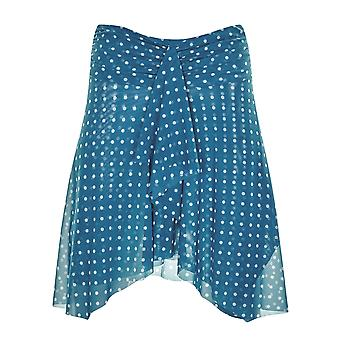 Sunflair 23213-26 Women's Retro Pearls Blue Spotted Skirt Cover Up