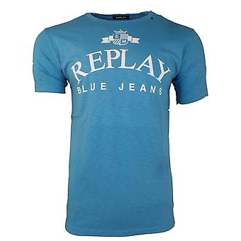 Replay T-Shirts Blue Jeans T Shirt