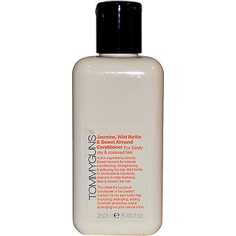 Tommy Guns Hair Salon Conditoner Jasmine, Wild Nettle & Almond 250ml for Thirsty Dry and C