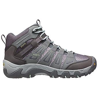 Keen Grey Womens Oakridge Mid WP Walking Boot