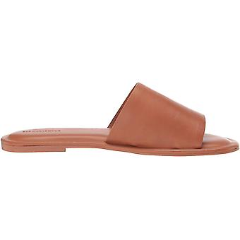 Brand - 206 Collective Women's Soler Leather Flat Sandal