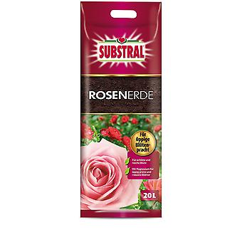 SUBSTRAL® Rose Earth, 20 litres