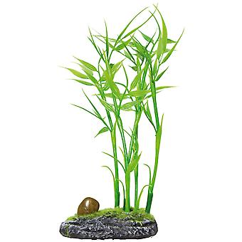 Aquatic Plants Planta Plastica Bambu (Fish , Decoration , Artificitial Plants)