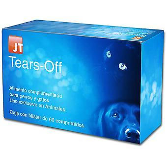 JTPharma Complemento para Perros y Gatos Tears-Off 60 Comprimidos (Dogs , Supplements)