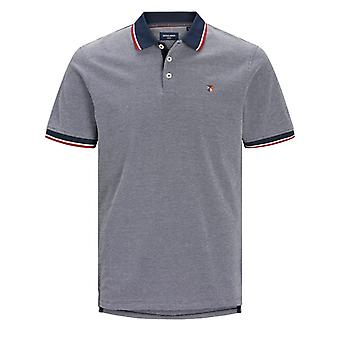 Jack & Jones Bluwin Polo - Mood Indigo/Whisper White