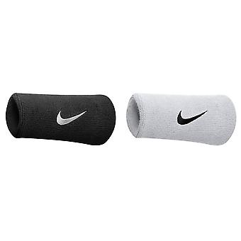 Nike Swoosh Double Sweatbands (1 Pair) (Pack of 2)