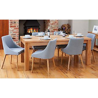 Baumhaus Bundle Mobel COR04E Table With 6 x COR03L Chairs