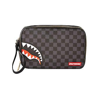 Paris Toiletry Çanta Siyah Sprayground Sharks