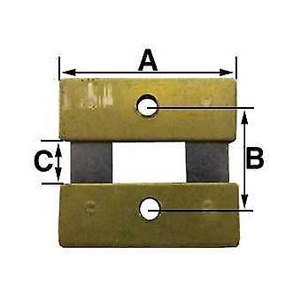 Pendulur suspension fjedre b = 10,0 mm (a = 17,0 mm & c = 3,9 mm) kundo