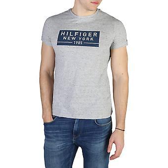 Tommy Hilfiger Original Men Printemps/Été T-shirt - Couleur Grise 42073