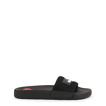 Love Moschino Original Women Spring/Summer Flip Flops Black Color - 72656