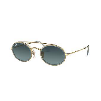 راي بان RB3847N 91233M الذهب / الأزرق التدرج النظارات الشمسية الرمادية