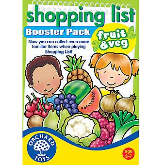 Shopping List Fruit and Vegetables Booster Pack