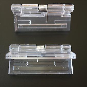 2 Pack - 45mm x 38mm klare Feder Scharniere