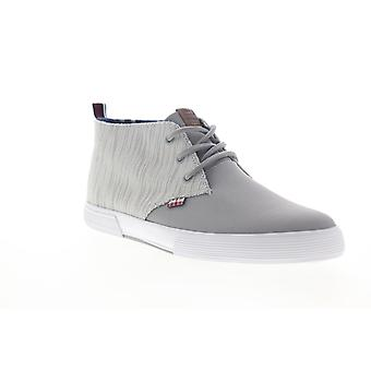 Ben Sherman Bradford Chukka  Mens Gray Mid Top Lifestyle Sneakers Shoes