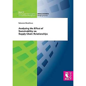 Analyzing the Effect of Sustainability on Supply Chain Relationships by Brockhaus & Sebastian