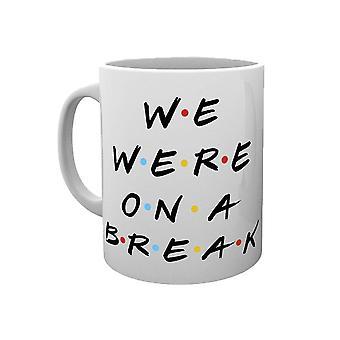 Friends 'We Were On A Break' Mug