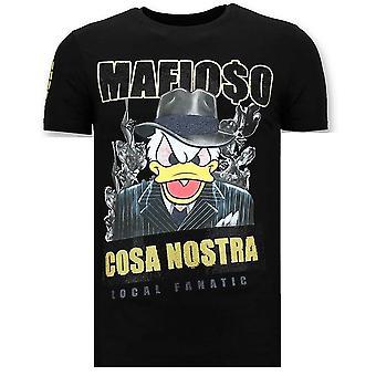 T-shirt - Cosa Nostra Mafioso - Noir