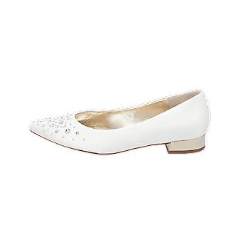 5-102097 Ballerines Femmes White Slippers Espadrilles Loafer