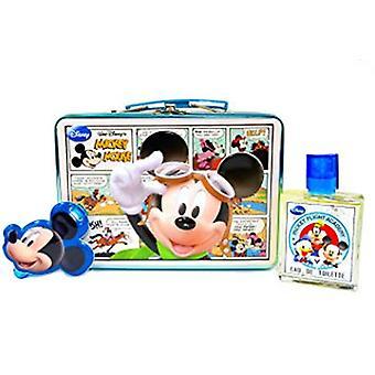Disney Mickey Mouse regalo Set 50ml EDT Spray + bagagli Tag + custodia da viaggio