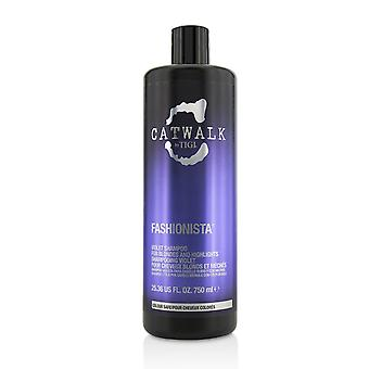 Catwalk fashionista violet shampoo (for blondes and highlights) 215227 750ml/25.36oz