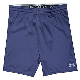 Boy-apos;s Under Armour Junior Challenger II Knit Shorts en bleu
