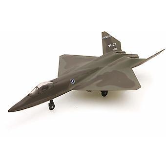 Snap insieme modello YF-23 Black Widow II Jet Fighter