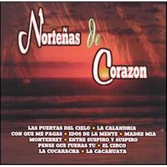 Nortenas De Corazon - Vol. 1-Nortenas De Corazon [CD] USA import