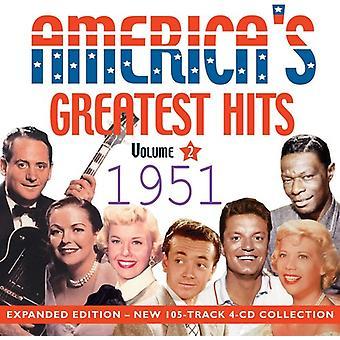Amerika's Greatest Hits 1951 [CD] USA import