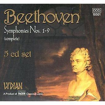 L.V. Beethoven - Beethoven: Symfonieën Nos. 1-9 (Complete) [verzamelbox] [CD] USA import