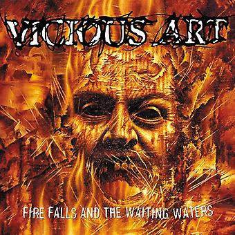 Vicious Art - Fire Falls & the Waiting Water [CD] USA import