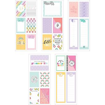 Happy Planner Medium Flip Stickers 5/Sheets-Planner Babe