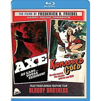 Axe / Kidnapped Coed [Blu-ray] USA import