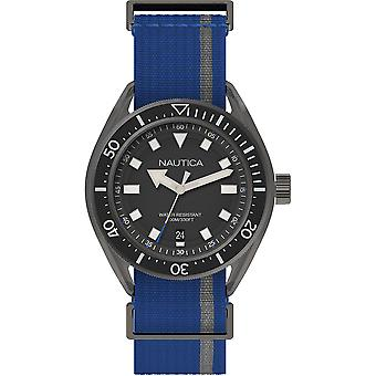 Nautica Watch NAPPRF002 - Tyg Gents Quartz Analog