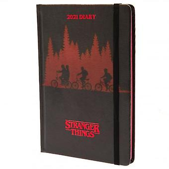 Stranger Things A5 Journal 2021